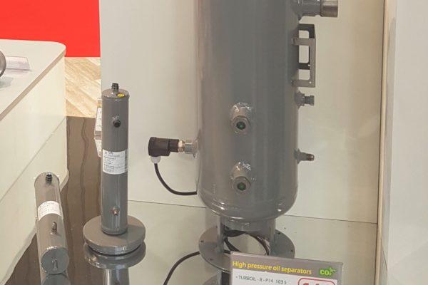 Innovación de ruptura en CARLY: una nueva generación de separador de aceite CO2 140 bar: TURBOIL-R-P14 – INTEGRITY