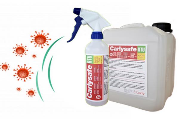 COVID 19 : Nuevo Desinfectante Virucida CARLYSAFE-RTU